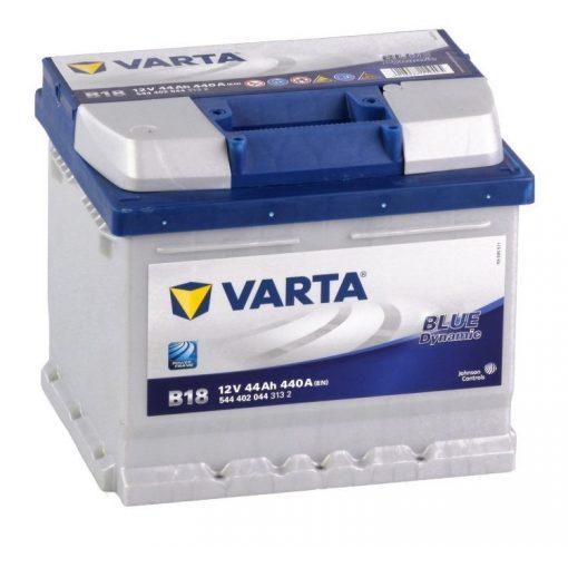 Varta Blue Dynamic 12v 44Ah 440En Jobb+ Autó Akkumulátor