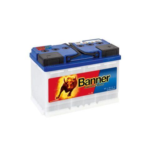 Banner Energy Bull 95601 12V 80Ah Jobb+ Akkumulátor