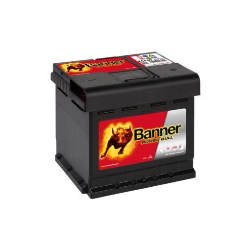 Banner Power Bull P4409 12V 44Ah 420EN Jobb+ Akkumulátor