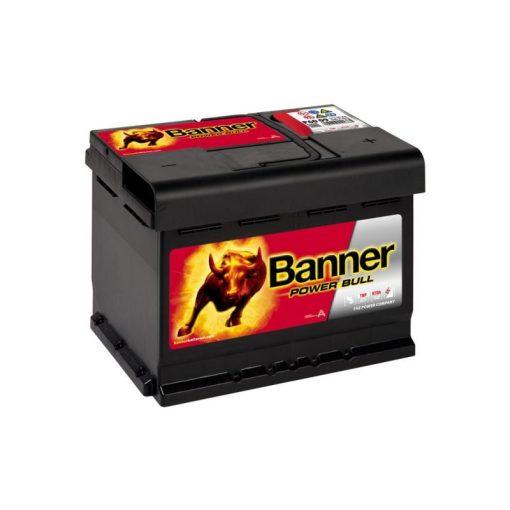 Banner Power Bull P6009 12V 60Ah 540EN Jobb+ Akkumulátor