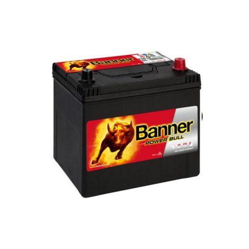Banner Power Bull P6068 12V 60Ah 510EN Jobb+ Asia Akkumulátor
