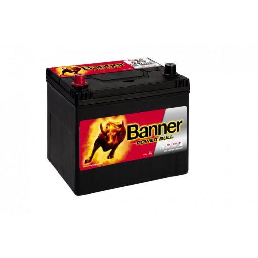 Banner Power Bull P6069 12V 60Ah 510EN Bal+ Asia Akkumulátor