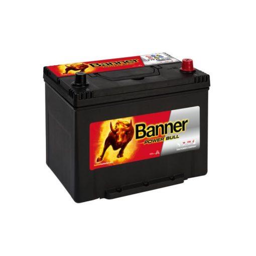 Banner Power Bull P7029 12V 70Ah 600EN Jobb+ Asia Akkumulátor