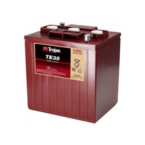 3/9 GIS196 DIN Trojan akkumulátor 6V K20 245Ah / K5 200Ah