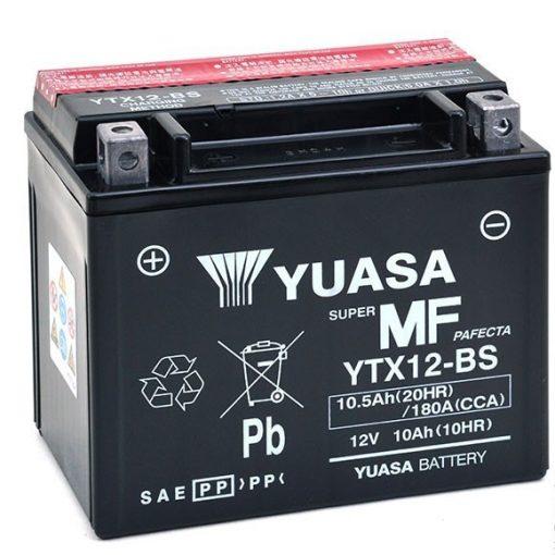 YUASA YTX12-BS 12V 10.5Ah 180A MOTOR AKKUMULÁTOR