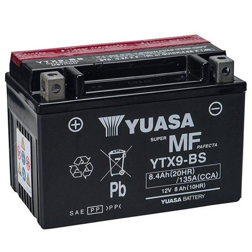 YUASA YTX9-BS 12V 8.4Ah 135A MOTOR AKKUMULÁTOR